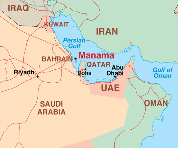 Bahrain Map While The Us Corporate Media Has Dutifully Sold The Syrian Uprising As A Grass Roots Revolution When In Reality It Was Quickly Hijacked By