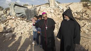 Catholic property destroy Jerusal