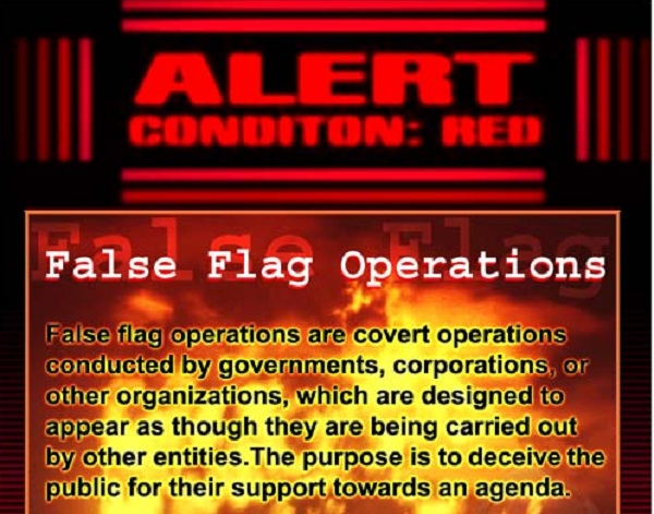 False Flag alert