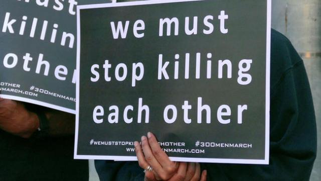 Stop killing each other