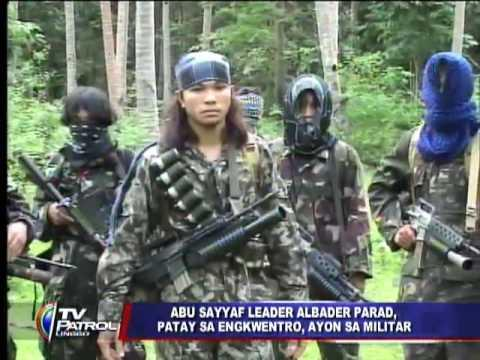 Philippine rebel leader