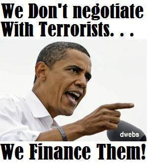 Obama we finance terrorists