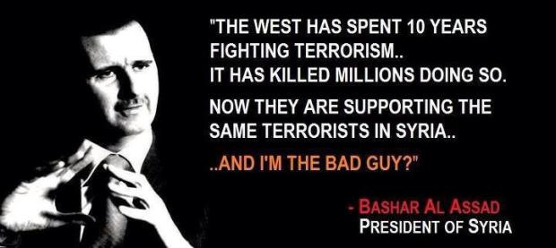Assad the bad guy
