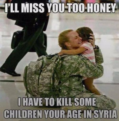 Syria child killing US soldier