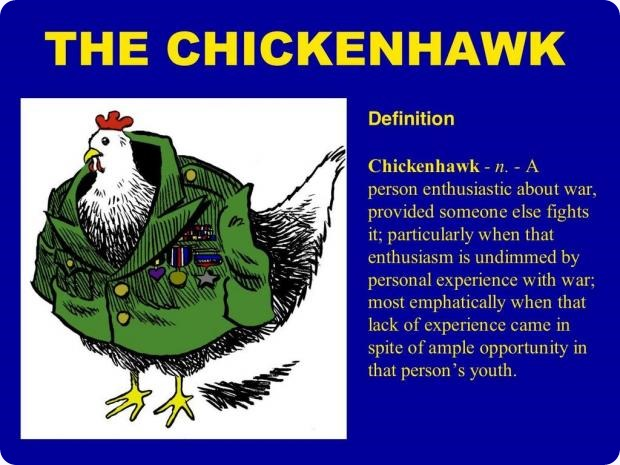 Chicken Hawk Presidents