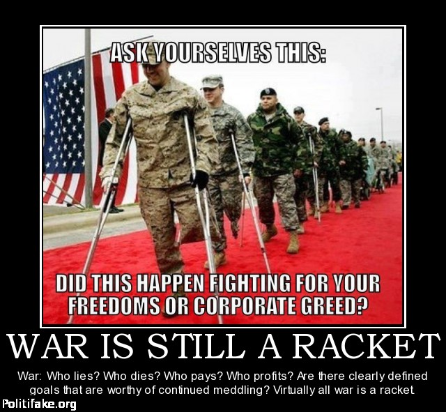 War is a racket2