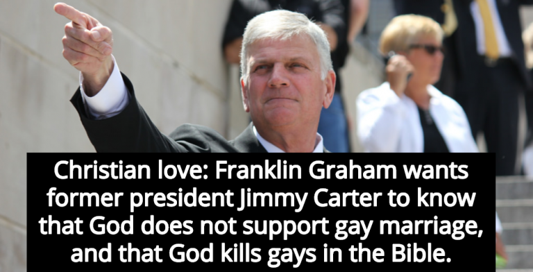 Billy graham view on homosexuality